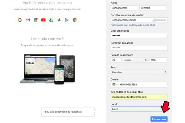 acessar gmail