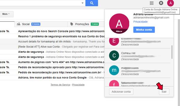 conta google login