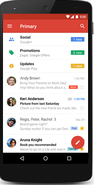 gmail login mobile
