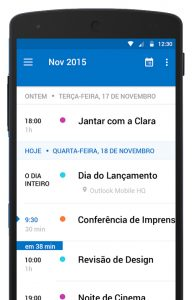 acessar outlook no celular