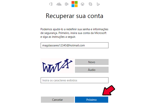 site hotmail entrar