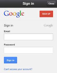 fazer login gmail mobile