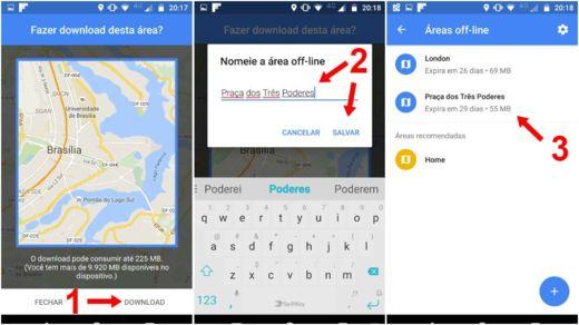 como usar o google maps