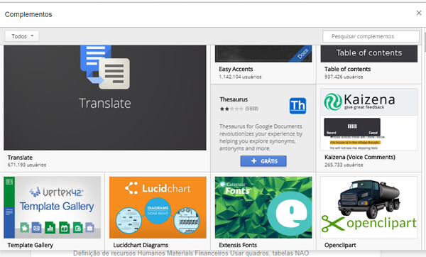 complemento google drive