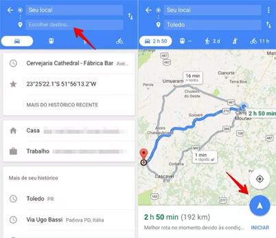 google maps como usar
