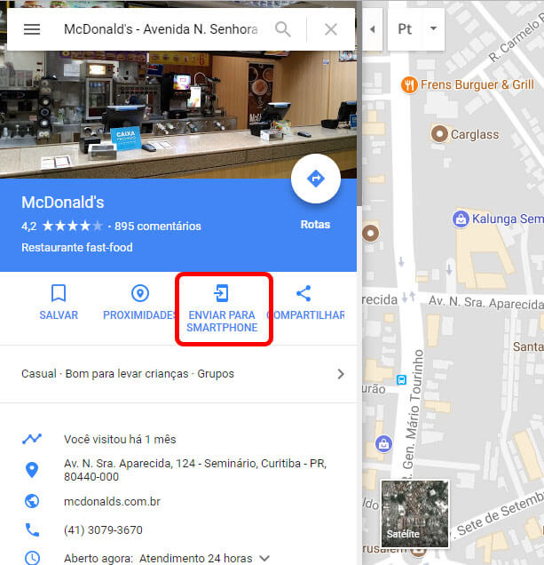 google maps funciona mesmo