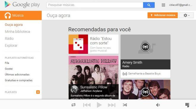 google play musicas