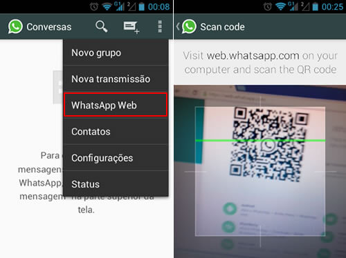whatsapp web no pc como usar