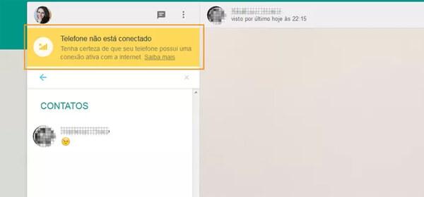 whatsapp web nao conecta